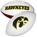 Iowa Hawkeyes Signature Football