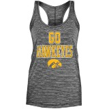 Iowa Hawkeyes Women's Space Dye Racer Tank