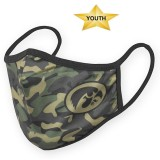 Iowa Hawkeyes Youth Camo Mask