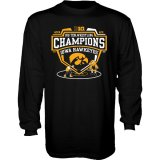 Iowa Hawkeyes Wrestling 2021 B1G Champions Tee - Long Sleeve