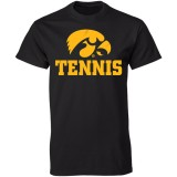 Iowa Hawkeyes Tennis Tee