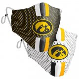 Iowa Hawkeyes College Mask - 2 Pack