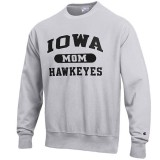 Iowa Hawkeyes Mom Reverse Weave Crew Sweat