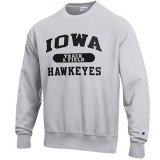 Iowa Hawkeyes Track & Field Reverse Weave Crew Sweat