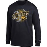 Iowa Hawkeyes Baseball Seams Tee - Long Sleeve