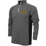 Iowa Hawkeyes Track & Field 1/4 Zip Grey Top