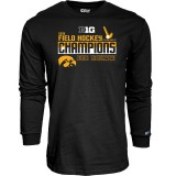 Iowa Hawkeyes Women's Field Hockey LS Tee - Champions