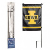 Iowa Hawkeyes Garden Flag Pole