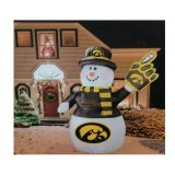 Iowa Hawkeyes Inflatable Snowman