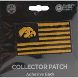 Iowa Hawkeyes Collector Flag Patch