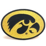 "Iowa Hawkeyes Collector 4"" Tigerhawk Patch"