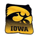 Iowa Hawkeyes Raschel Throw Blanket