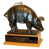 Iowa Hawkeyes Floyd Rosedale Trophy Ornament