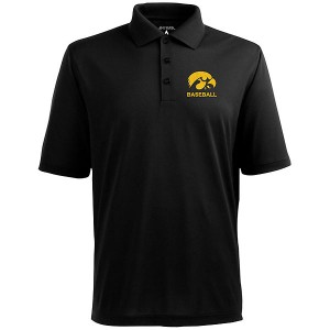 Iowa Hawkeyes Baseball Pique Polo