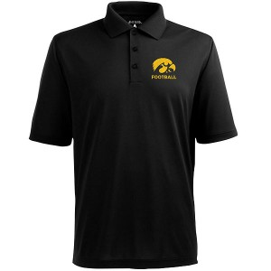 Iowa Hawkeyes Football Pique Polo