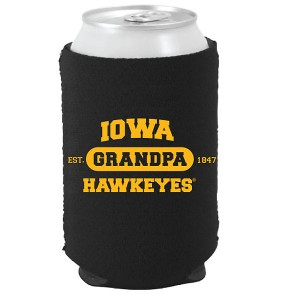 Iowa Hawkeyes Grandpa Can Coozie