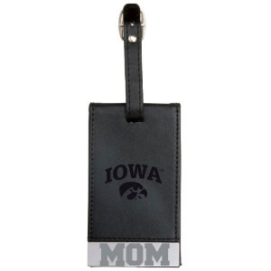 Iowa Hawkeyes Mom Luggage Tag