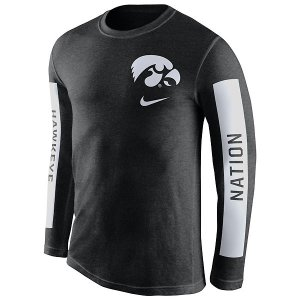 Iowa Hawkeyes Boundry Tee