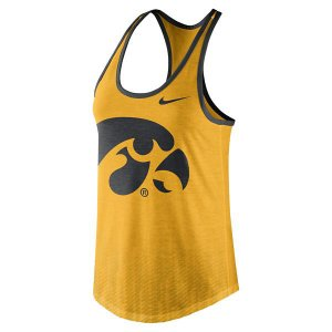 Iowa Hawkeyes Women's Gold Tank Top