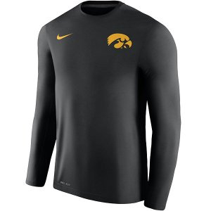 Iowa Hawkeyes Dry Coach Tee