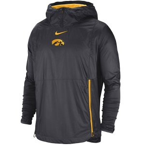 Iowa Hawkeyes Lockdown Black Jacket