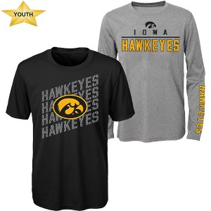 Iowa Hawkeyes Youth Binary Combo Tee