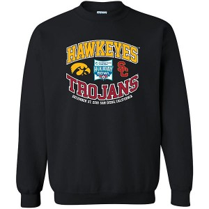 Iowa Hawkeyes Holiday Bowl Black Sweat