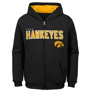 Iowa Hawkeyes Youth 8-20 Stated Fleece