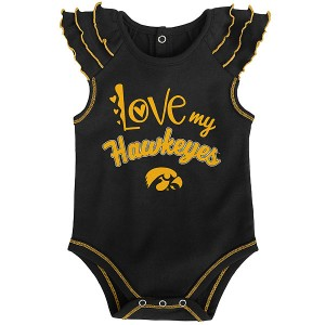 Iowa Hawkeyes Infant Touchdown Creeper Set