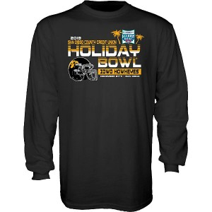 Iowa Hawkeyes Holiday Bowl Always On Top Tee - Long  Sleeve
