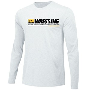 Iowa Hawkeyes Wrestling Engineered Tee - Long Sleeve