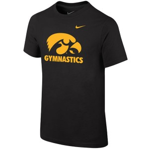 Iowa Hawkeyes Youth Gymnastics Tee
