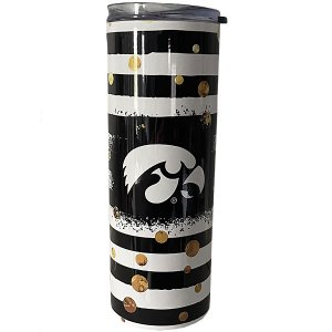 Iowa Hawkeyes Striped Bottle
