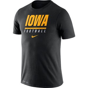 Iowa Hawkeyes Icon Wordmark Tee
