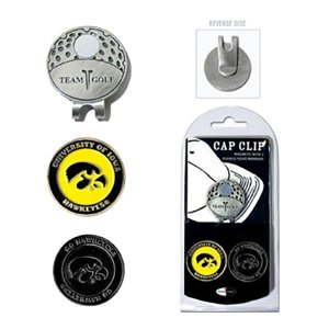 Iowa Hawkeyes Cap Clip/Marker Set