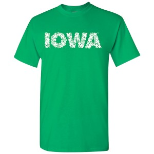 Iowa Hawkeyes Clovers Tee