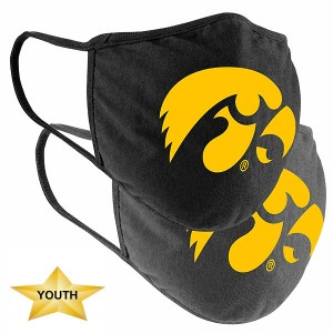 Iowa Hawkeyes Youth 2 Pack Mask