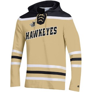 Iowa Hawkeyes Super Fan Hockey Hoodie