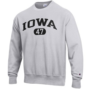 Iowa Hawkeyes Reverse Weave Crew Sweat