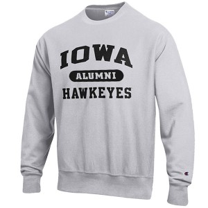 Iowa Hawkeyes Alumni Reverse Weave Crew Sweat
