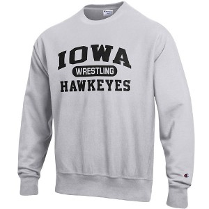 Iowa Hawkeyes Wrestling Reverse Weave Crew Sweat