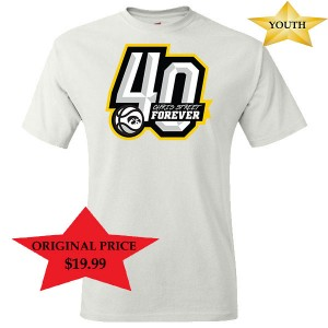 Iowa Hawkeyes Youth Chris Street White Out Short Sleeve Shirt