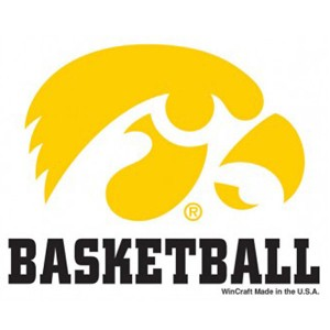 Iowa Hawkeyes Basketball Decal