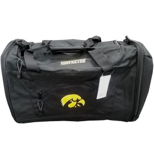 Iowa Hawkeyes Locker Duffel Bag