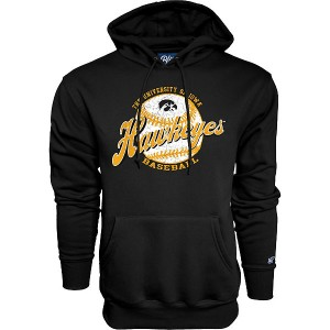 Iowa Hawkeyes Baseball Flash Dance Hoodie