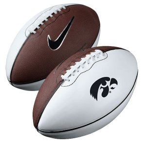 Iowa Hawkeyes Official Size Autographable Football