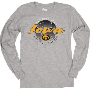 Iowa Hawkeyes Volleyball Spike It Tee - Long Sleeve
