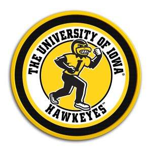 Iowa Hawkeyes Mascot Herky Sign