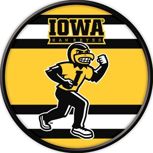 Iowa Hawkeyes Mascot Herky Stripe Sign