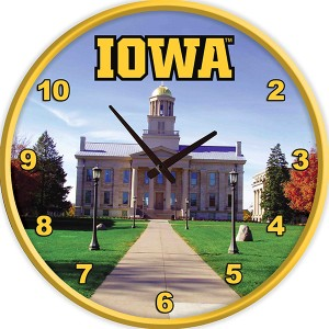 Iowa Hawkeyes Old Capitol Clock